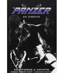 Pack: De Infierno a Infinito (directo, sabado negro 2009, leganes) 1 DVD y CD Single Inmortal/Dame Color