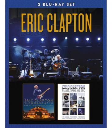 Slowhand At 70: Live At The Royal Albert Hall + Planes, Trains And Eric (2 Blu-Ray)