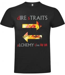 Dire Straits Alchemy Live Camiseta Manga Corta