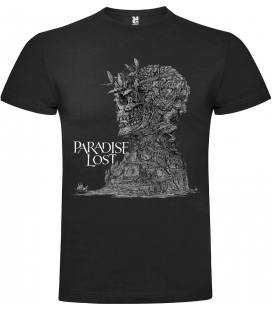 Paradise Lost The Plague Within Camiseta Manga Corta. Talla S