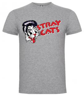 Stray Cats Camiseta Manga Corta
