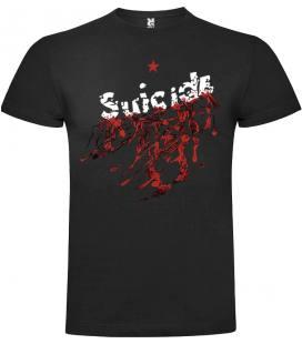 Suicide Logo Camiseta Manga Corta