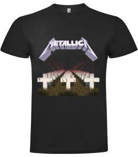 Metallica Master Of Puppets Camiseta Manga Corta