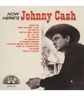 Now Here'S Johnny Cash (1 LP RED)