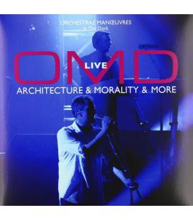 Architecture & Morality & More-Live (2 LP+1 CD Limited Edition)