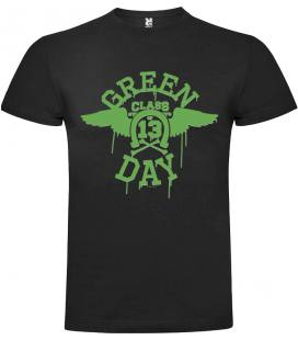 Green Day 13 Class Camiseta Manga Corta