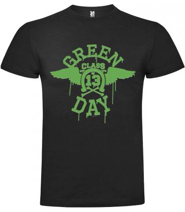 Green Day 13 Class Camiseta Manga Corta