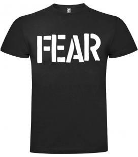 Fear Logo Camiseta Manga Corta