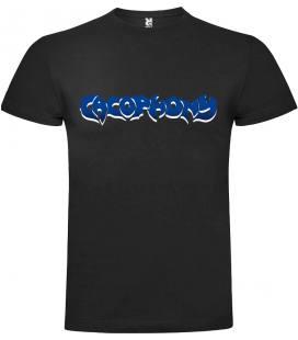 Cacophony Logo Camiseta Manga Corta Bandas