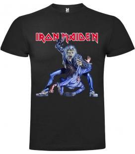 Iron Maiden Eddie Zarpa Camiseta Manga Corta Bandas