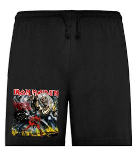 Iron Maiden The Number Of The Beast Bermudas