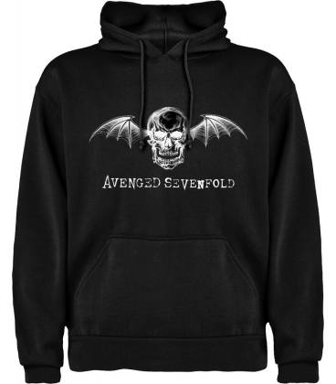 Avenged Sevenfold Skull Sudadera con capucha y bolsillo