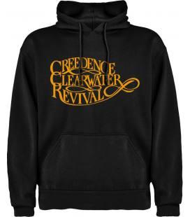 Credence Clearwater Revival Logo Sudadera con capucha y bolsillo