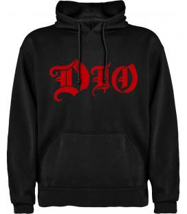 Dio Logo Sudadera con capucha y bolsillo