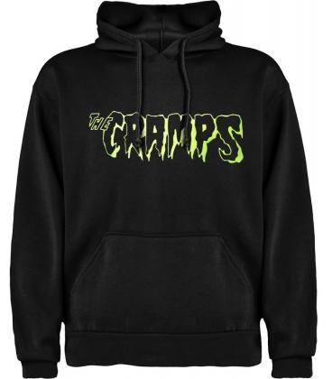 The Cramps Logo Sudadera con capucha y bolsillo