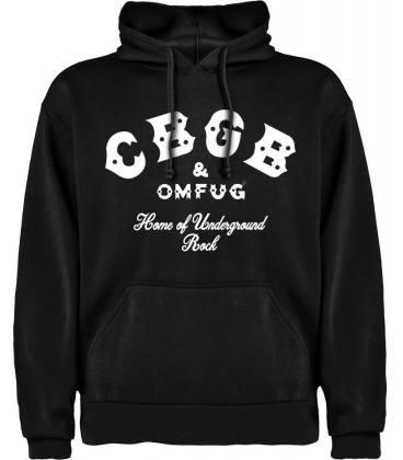 CBGB Logo Sudadera con capucha y bolsillo