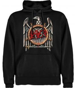 Slayer Logo Sudadera con capucha y bolsillo