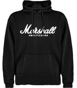 Marshall Logo Sudadera con capucha y bolsillo