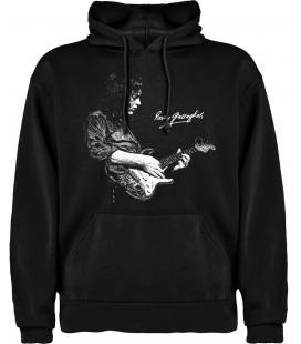 Rory Gallagher Foto Sudadera con capucha y bolsillo