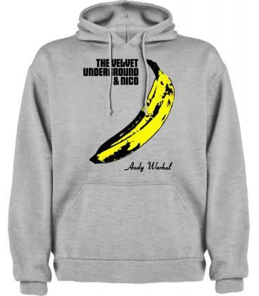 The Velvet Underground & Nico Sudadera con capucha y bolsillo