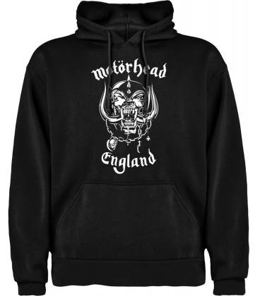 Motörhead England Sudadera con capucha y bolsillo