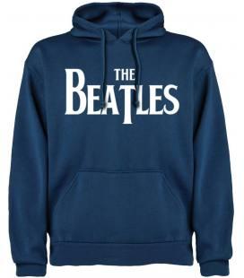 The Beatles Logo Sudadera con capucha y bolsillo