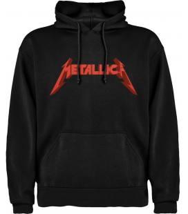 Metallica Logo Sudadera con capucha y bolsillo
