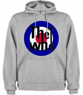The Who Logo Sudadera con capucha y bolsillo