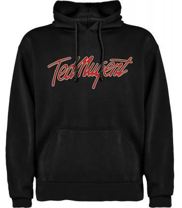 Ted Nugent Logo Sudadera con capucha y bolsillo