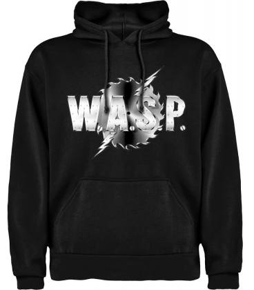 Wasp Logo Sudadera con capucha y bolsillo