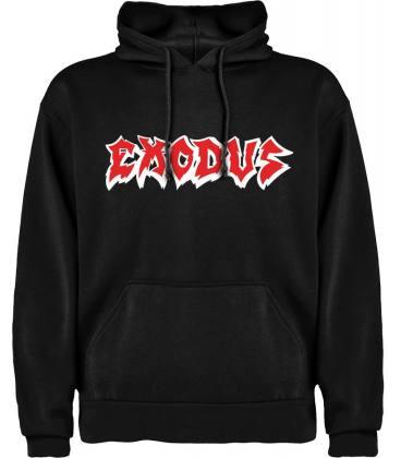 Exodus Logo Sudadera con capucha y bolsillo