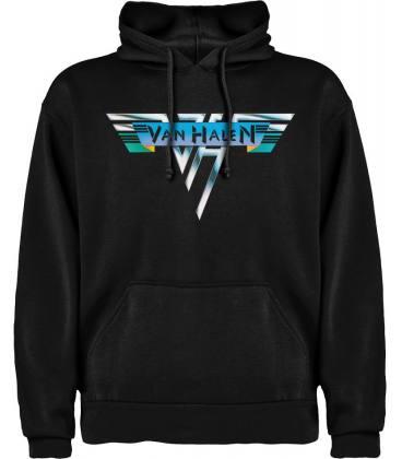 Van Halen Logo Sudadera con capucha y bolsillo