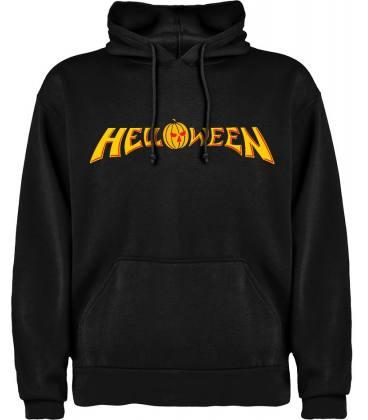 Helloween Logo Sudadera con capucha y bolsillo