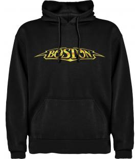 Boston Logo Sudadera con capucha y bolsillo