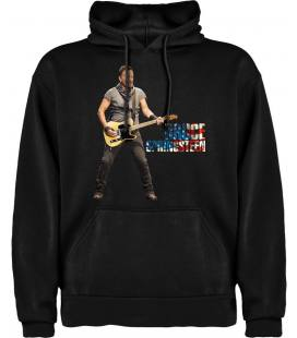 Bruce Guitar Sudadera con capucha y bolsillo