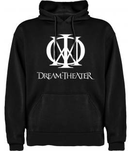 Dream THeater Logo Sudadera con capucha y bolsillo