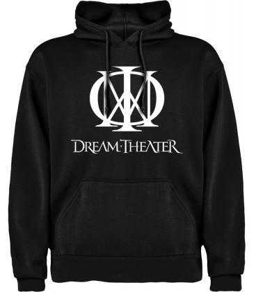 Dream THeater Logo Sudadera con capucha y bolsillo