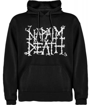 Napalm Death Sudadera con capucha y bolsillo