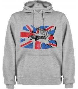 Sex Pistols Anarchy in The U.K. Sudadera con capucha y bolsillo