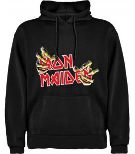Iron Maiden Hands Sudadera con capucha y bolsillo