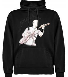Metallica James Hetfield Sudadera con capucha y bolsillo