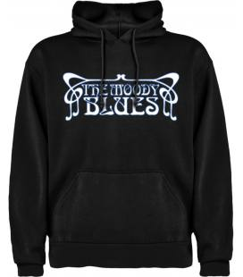 The Moody Blues Logo Sudadera con capucha y bolsillo