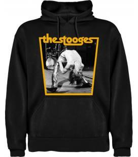 The Stooges Iggy Sudadera con capucha y bolsillo