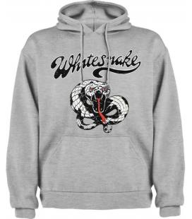 Whitesnake Snake Black Sudadera con capucha y bolsillo