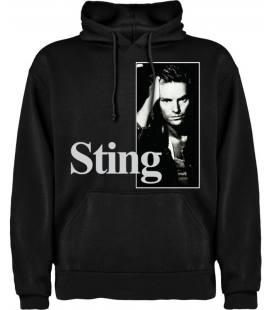 Sting Nothing Like The Sun Sudadera con capucha y bolsillo
