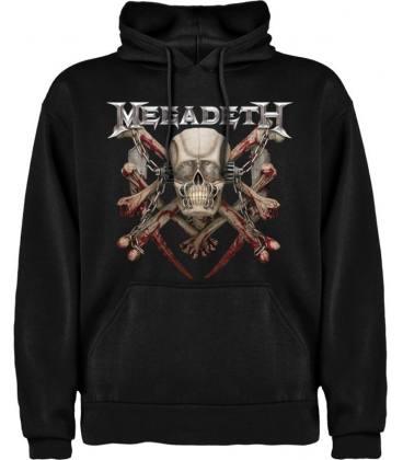 Megadeth Killing Is My Business Sudadera con capucha y bolsillo