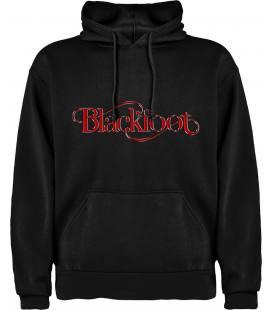 Blackfoot Logo Sudadera con capucha y bolsillo