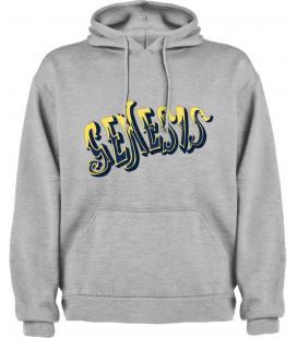 Genesis Logo Sudadera con capucha y bolsillo