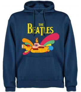 The Beatles Yellow Submarine Sudadera con capucha y bolsillo