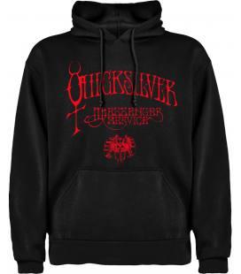 Quicksilver Messenger Service Logo Sudadera con capucha y bolsillo